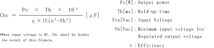 FAQ : How to calculate external capacitor value from